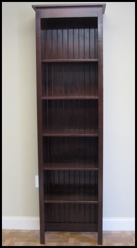 Contact Us For A Custom Quote Rustic Wood Retail Bookcase