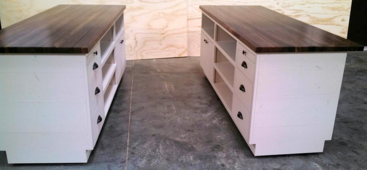 Rustic Wood Retail Store Product Display Fixtures & Shelving - Grocery ...