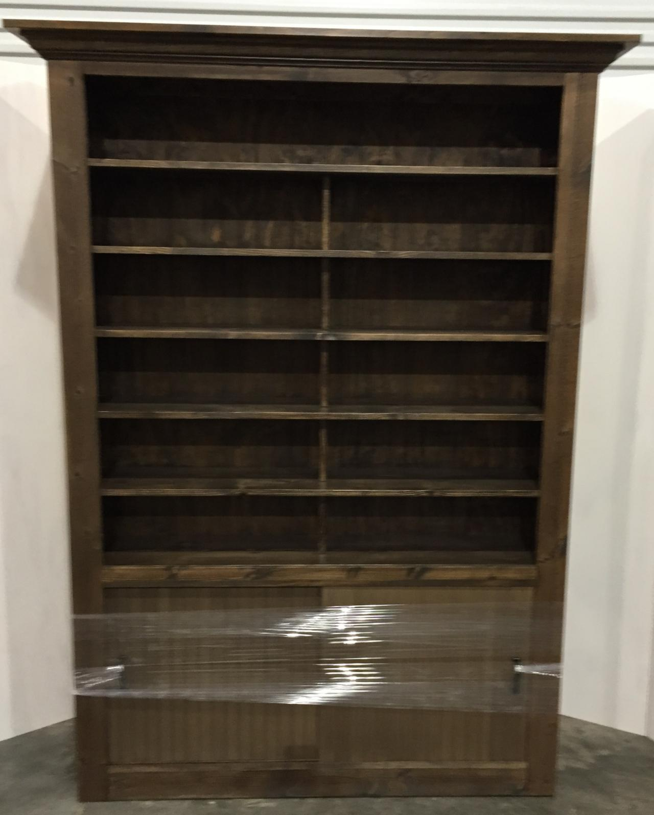 Rustic Wood Retail Store Product Display Fixtures & Shelving - Idea ...